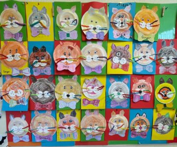 Beautiful Art from the Infant Classroom
