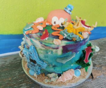 Under the Sea Themed Cakes